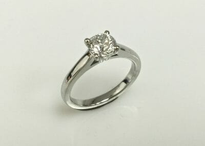 Marion Diamond Solitaire Ring