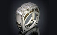 Spectacular Original Diamond Ring Design