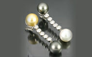 Designer Pearl Drop Earrings