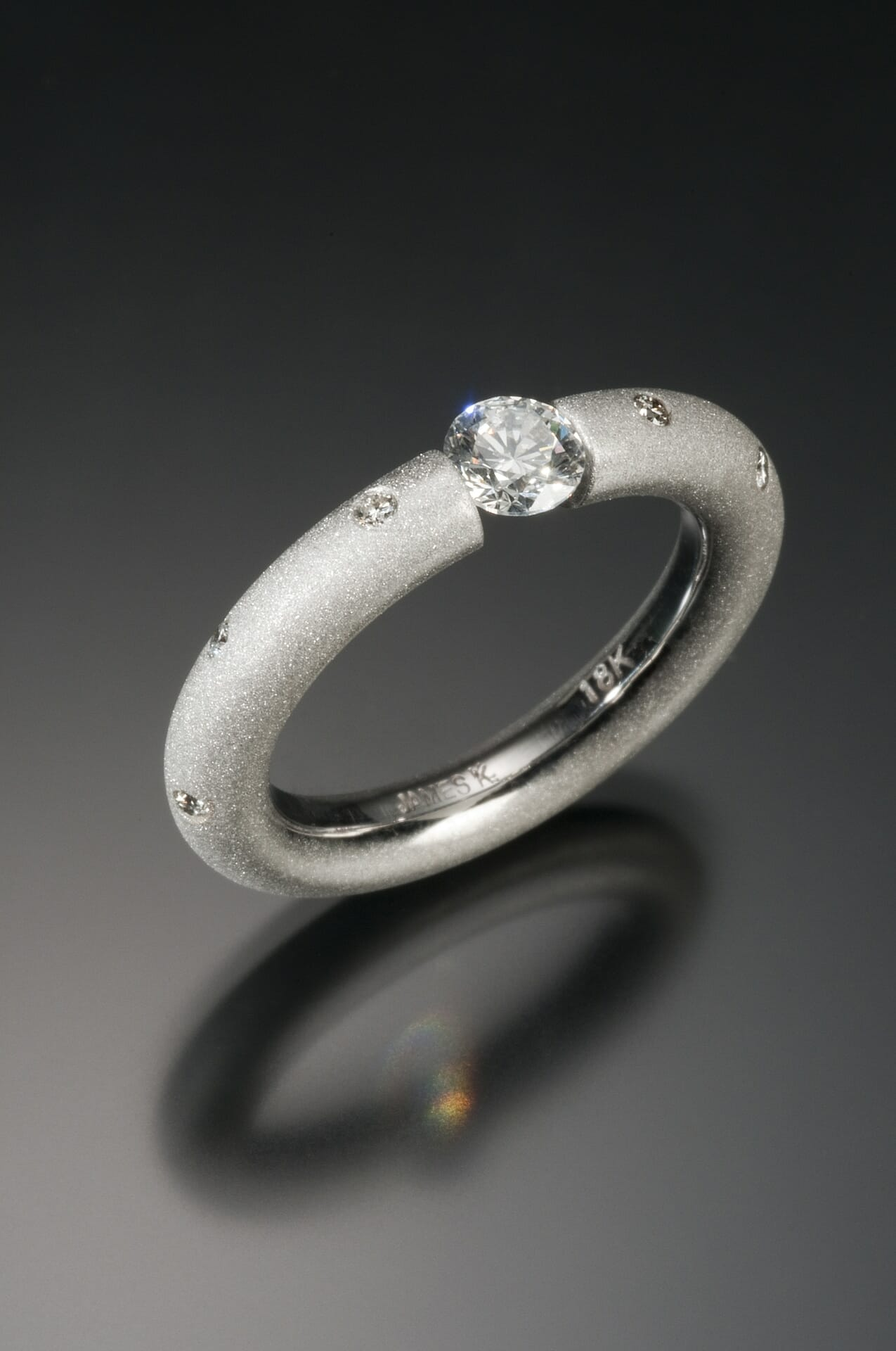 engagement and rings jewellery white wedding diamond platinum pear cut contemporary mccaul modern fine ring goldsmiths