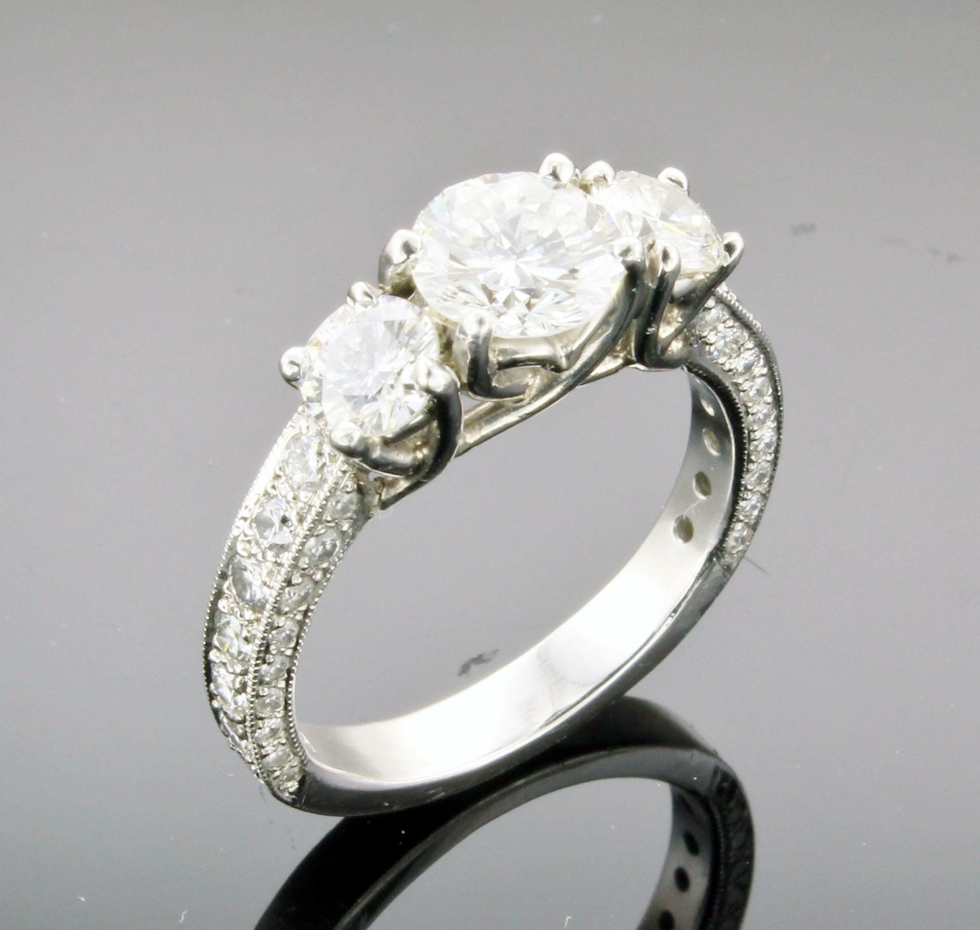 erie ring diamond eb engagement west wedding cut east basin rings rectangular