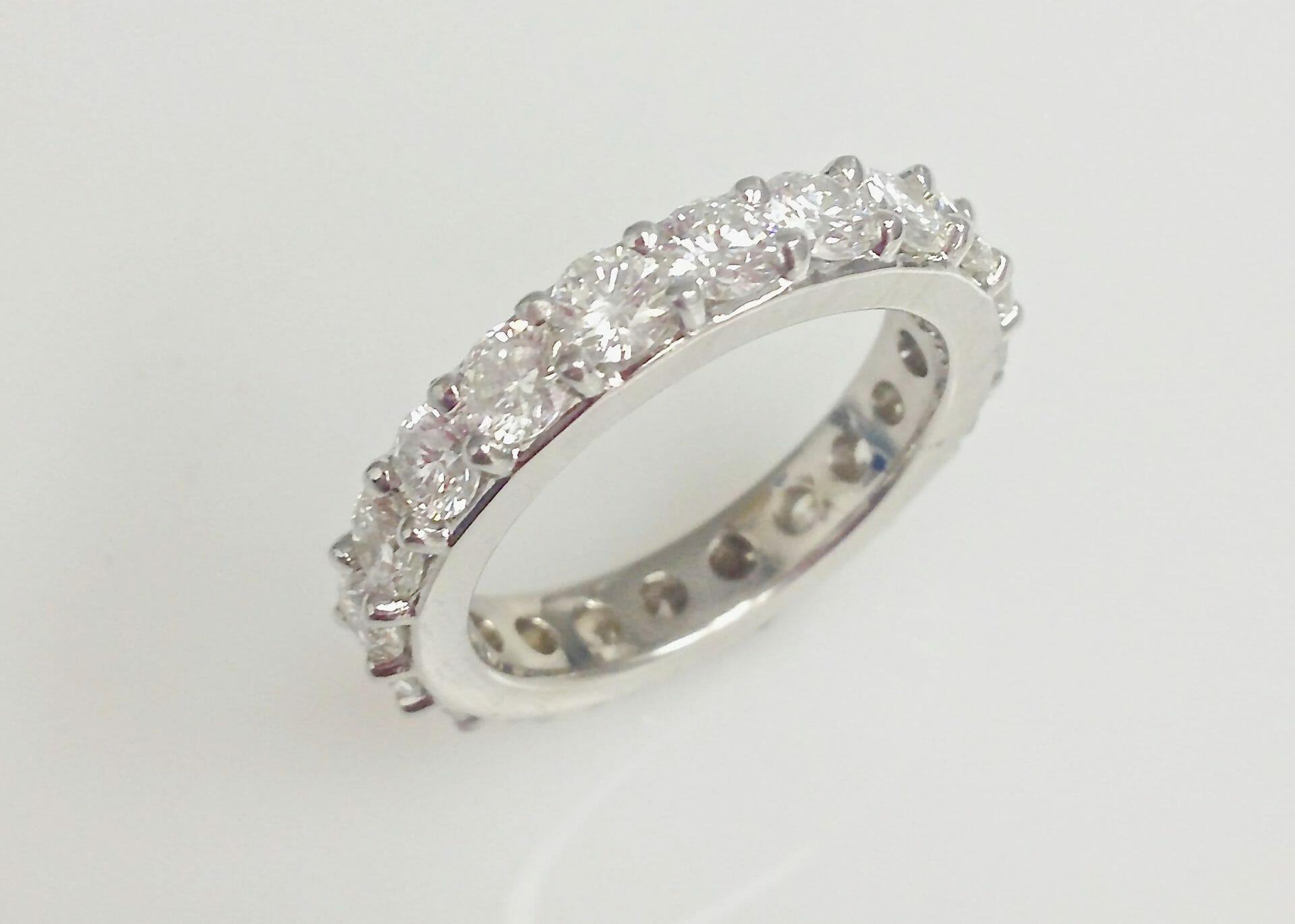 Joanna Diamond Eternity Wedding Band