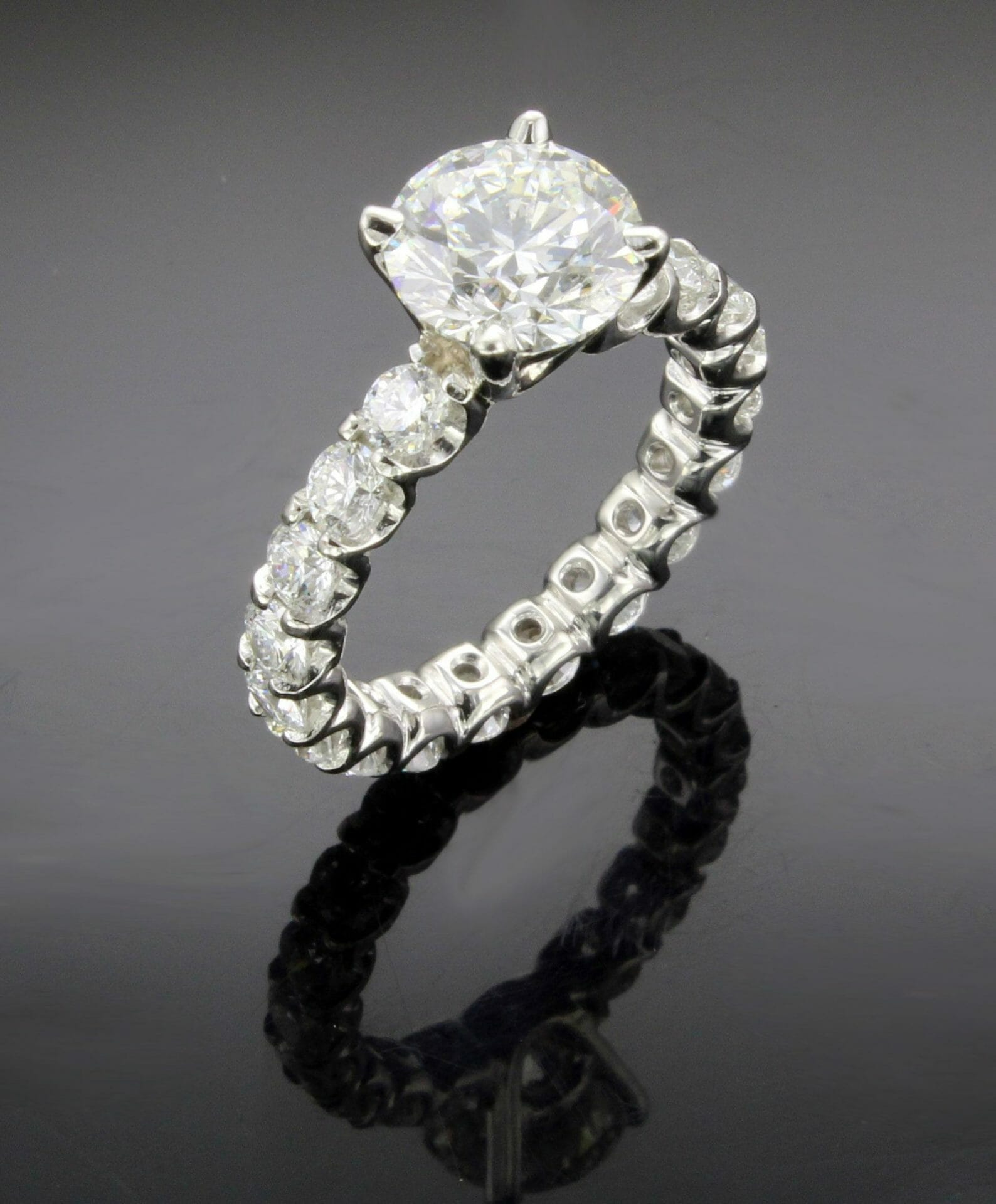 shop side diamond sku rings one engagement ladies tcw band size white eternity black gold