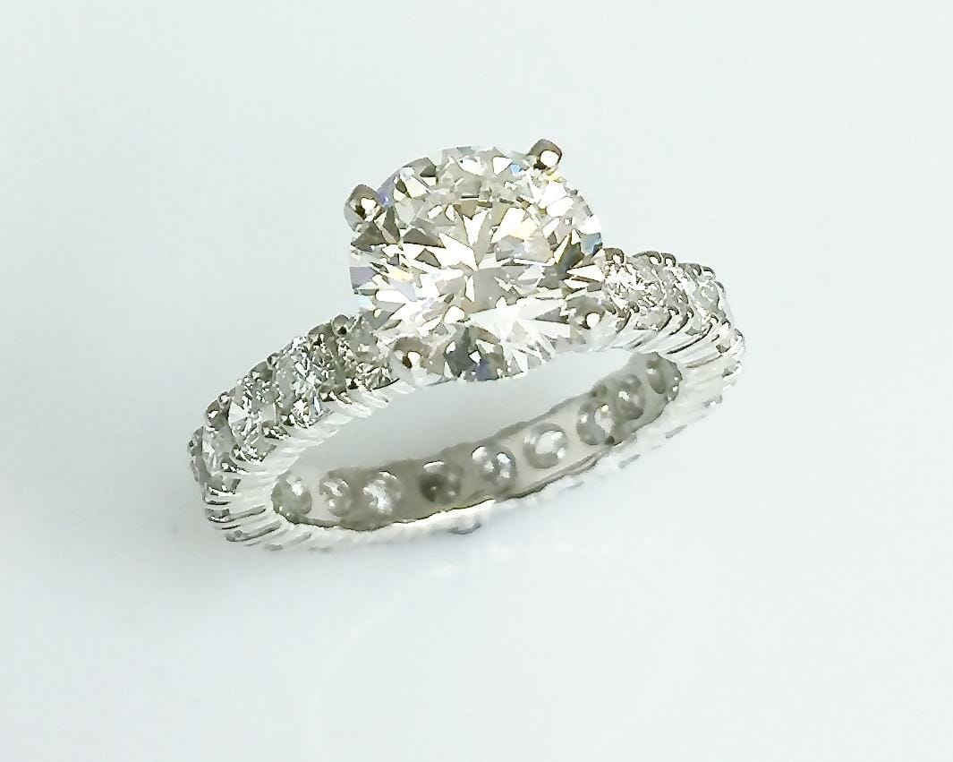 wedding moissanite set matching carat thin engagement curve gold diamond pave band white ring