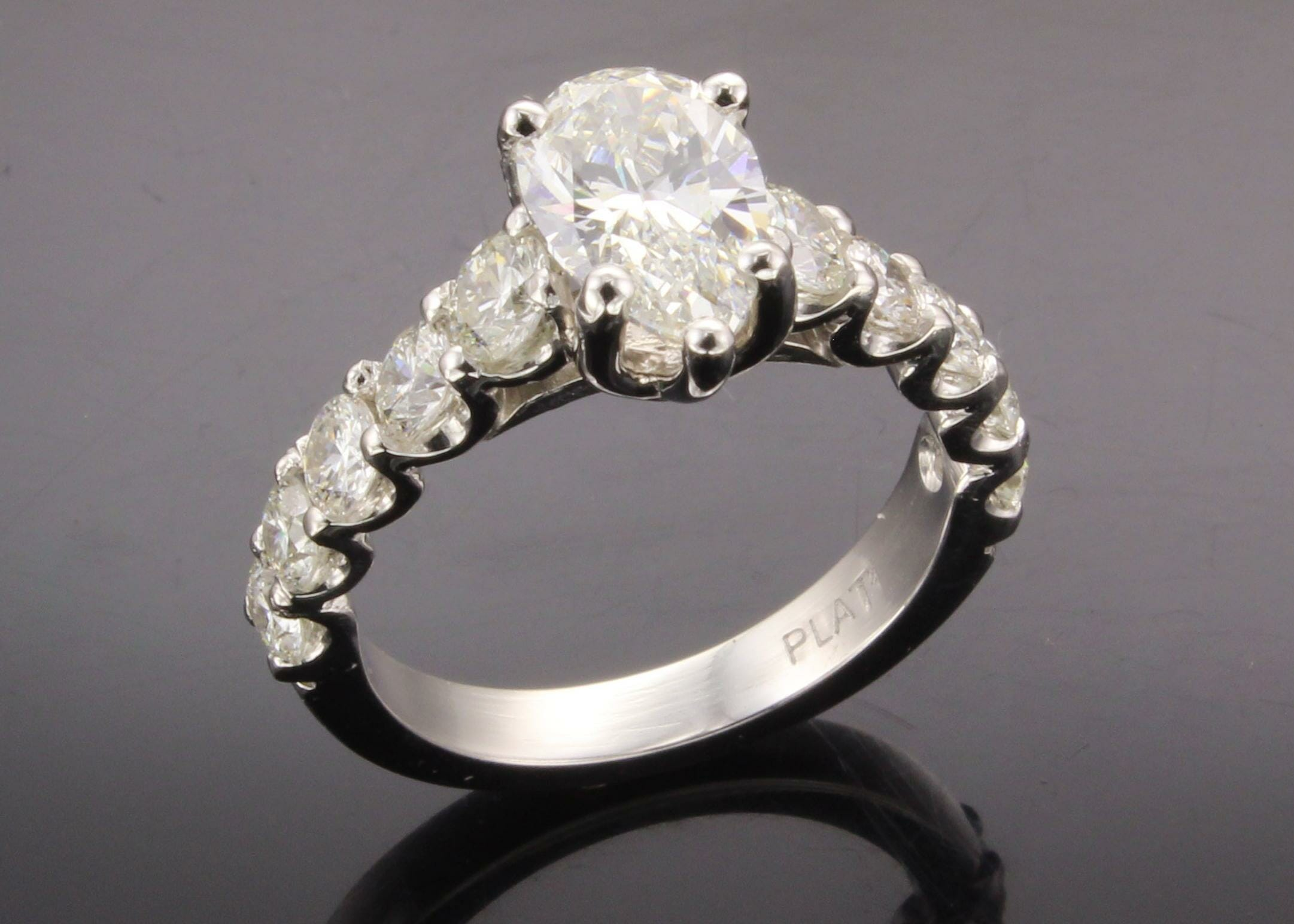 tiffany pear engagement diamond shape rings co shaped