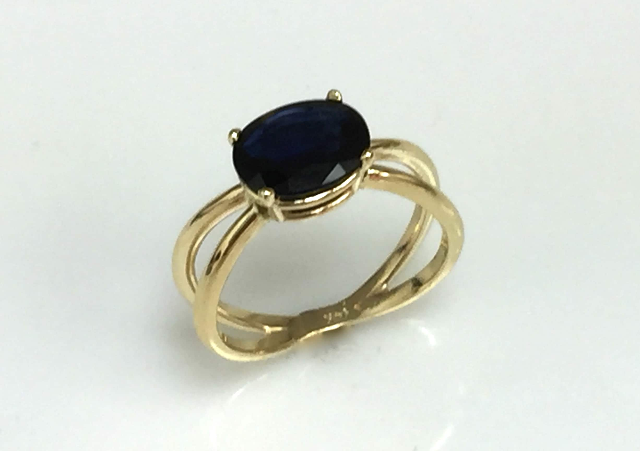 Colleen Sapphire Ring