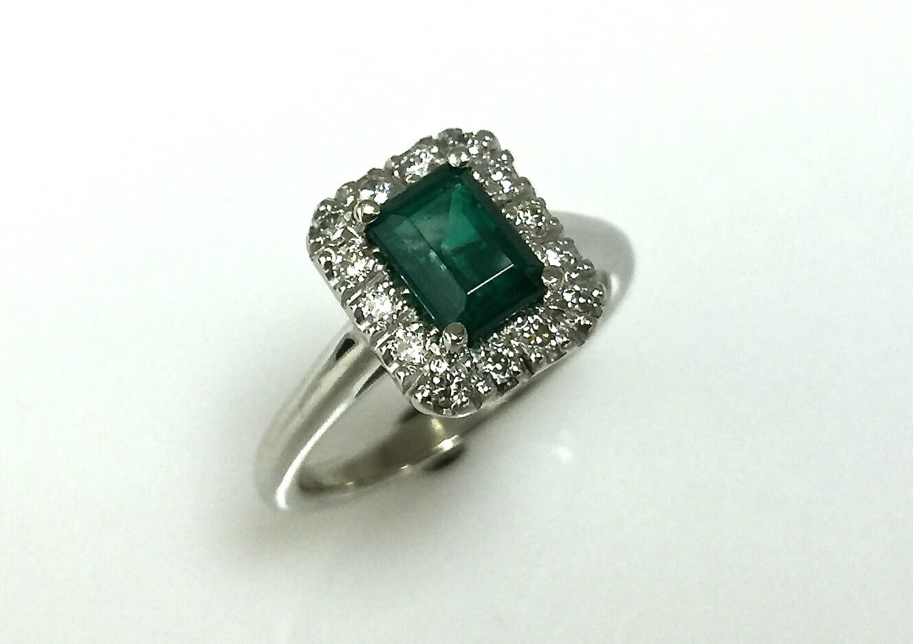 Joanie Emerald Diamond Ring