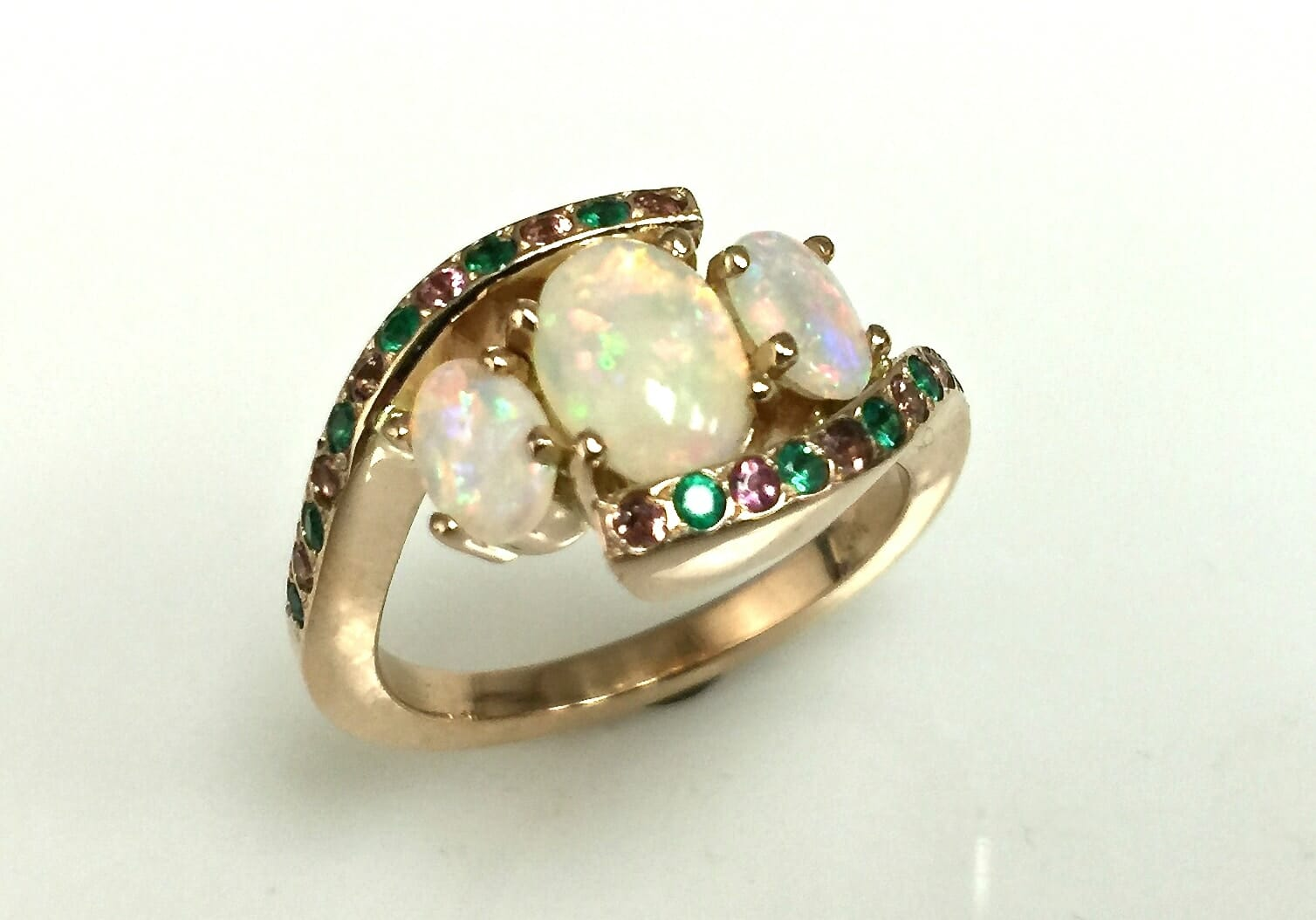 Rj October Birthstone Ring