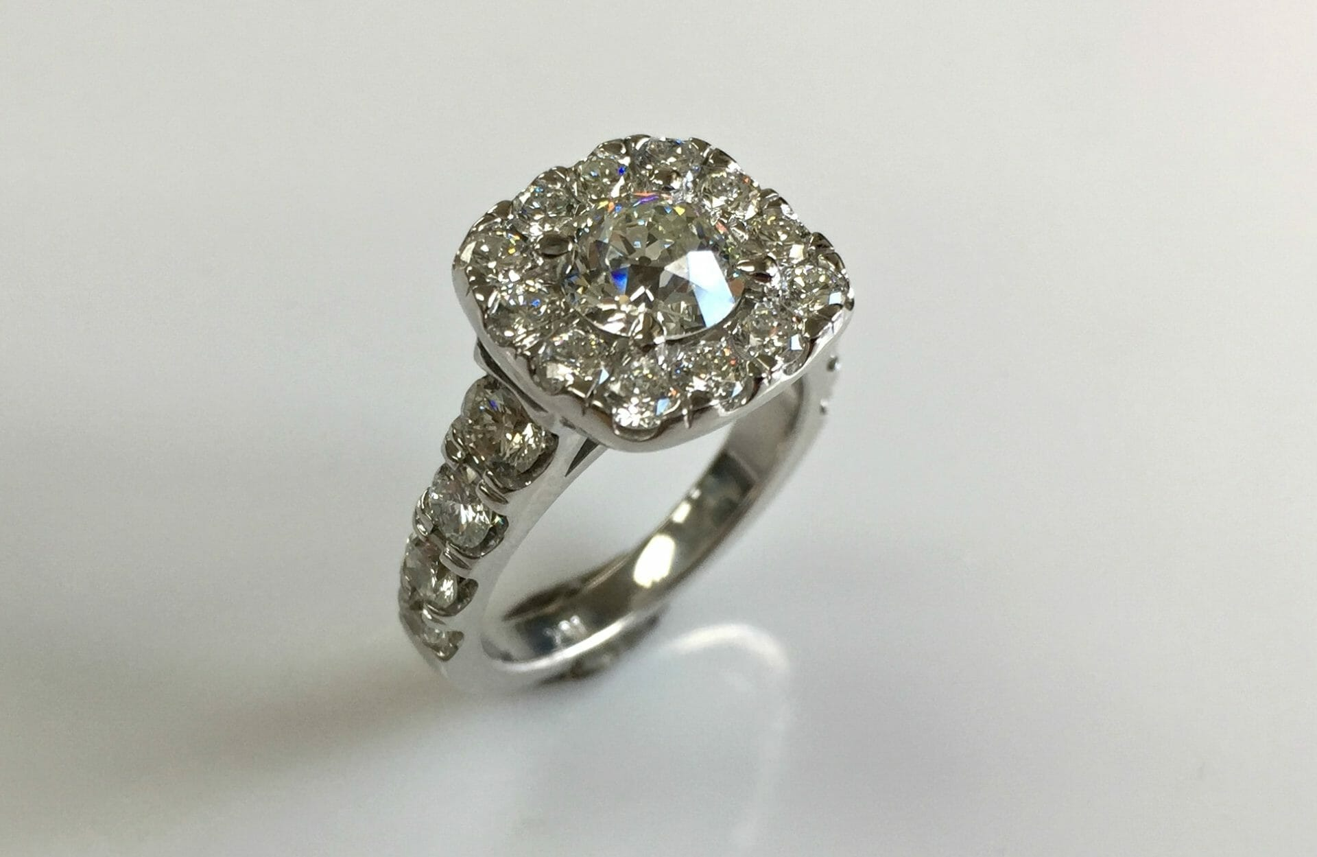 ring fashion your square to care engagement diamond rings gorgeous cleaning how for wedding cut