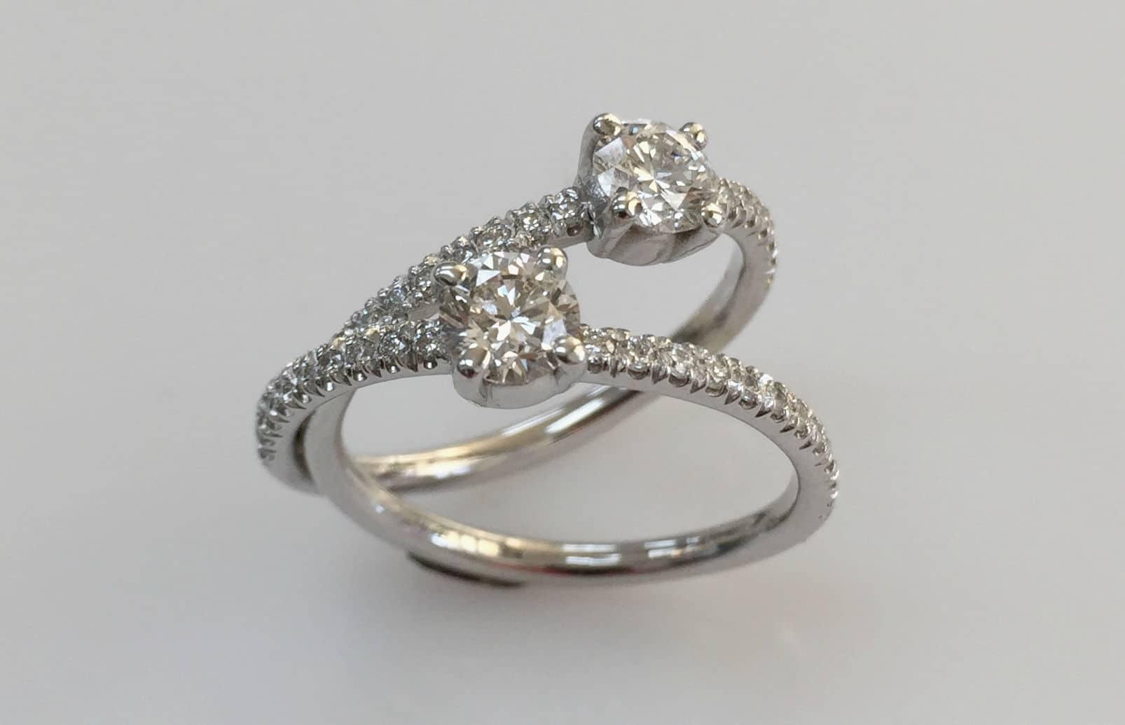 liorah double diamond ring