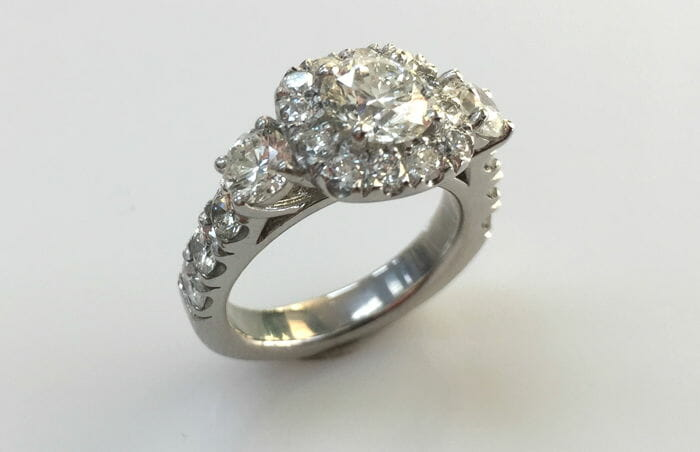 kelli halo diamond ring