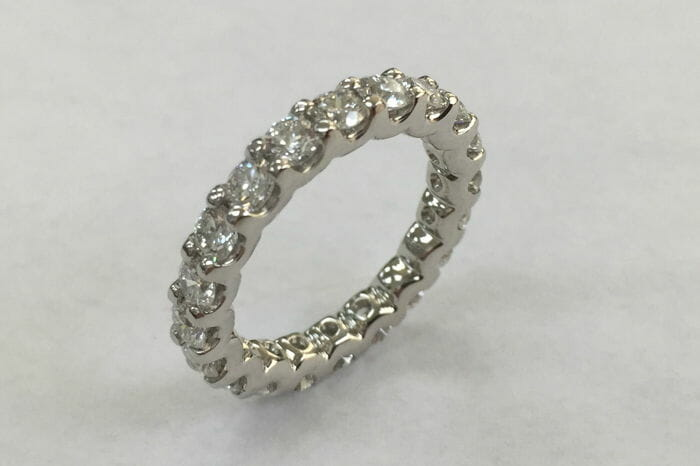 tayla diamond eternity wedding ring
