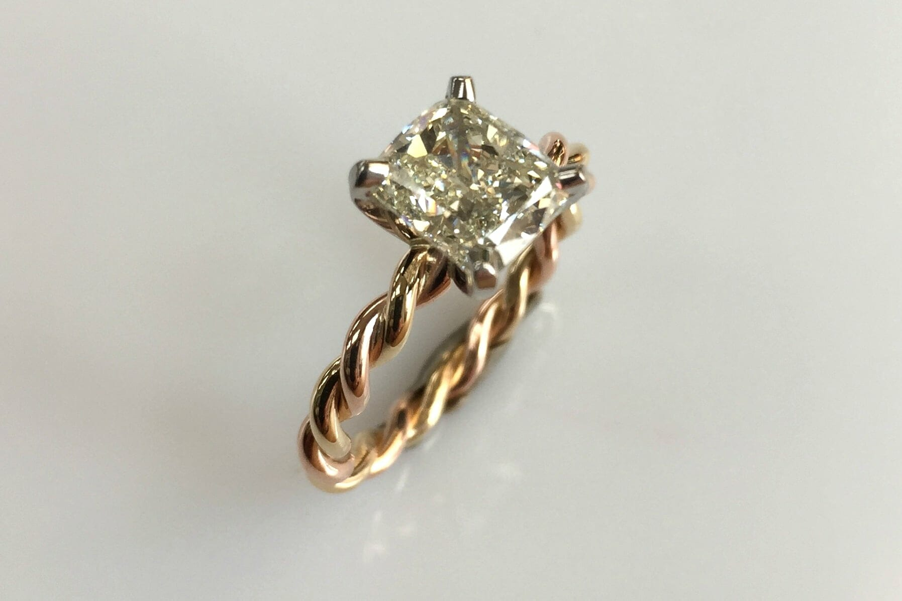 gallery designed ring custom engagement rings jewelry oregon yellow gold diamond boston sunstone eva