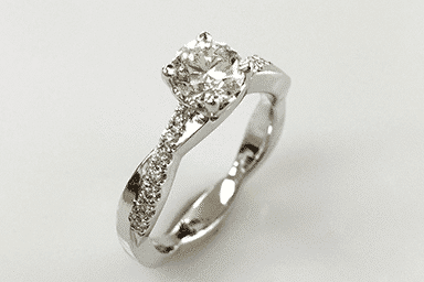 Fia White Gold Diamond Engagement Ring