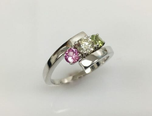 Mary Lou Mother's 14k White Gold Ring